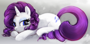 MLP 3: Rarity by The-Keyblade-Pony