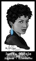 #FemiNoir DAY 2 - Jasika Nicole by TheArtRogue