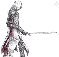 Altair - sketch (2) by SixthIllusion
