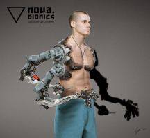 Bionic Worker Concept, No 2 by drbrBr