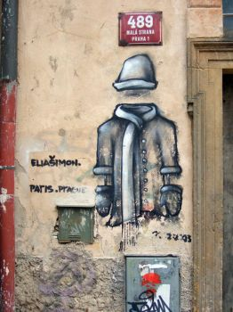Graffiti from Prague by jeanedvard