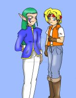 Luka and Lee by CathyMouse2010