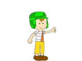 El Chavo - Adventure Time style by SuperMarcosLucky96