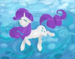 Pony Ballet: Rarity by Retaya
