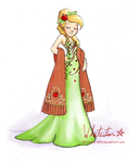 The Gala Collection: Applejack by Whitestar1802