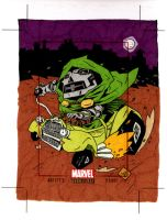 Dr Doom Hot Rod by soliton