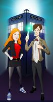 Doctor Who by omnidipus