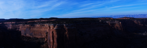 Colorado Monument Panorama 3 by Torqie