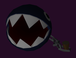 Chain Chomp papercraft by javierini