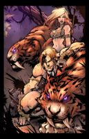 Ka-Zar - Joe Mad / Tony Kordos / Jack Lavy by JackLavy