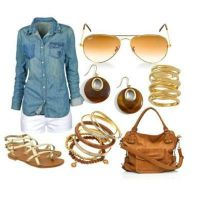 outfits de dia by edittionsgaby
