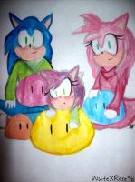 OHS- Dango Family by WhiteXRose96