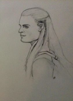 Legolas by ManorasFlame