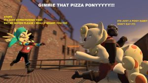 GIMMIE THAT PIZZA PONY by labet1001