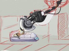 GLaDOS x Chell - Conversion by SocketArchive