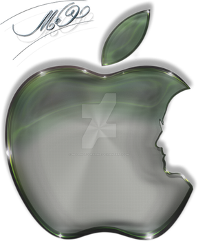 apple logo by Meophotographie