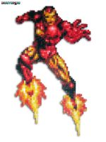 Iron Man Bead Sprite by DrOctoroc