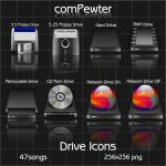 comPewter _ Drive Icons by 47songs