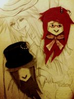 Grell and Undy by SirMephisto666