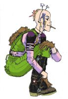 tank girl in colour by dillyfish