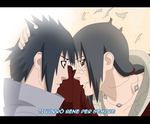 Naruto 590: Itachi and Sasuke by KushinaStefy