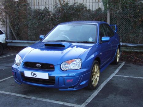 SUBARU - STOCK - March 2k7 by carlos62