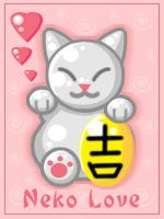 Maneki Neko Love by Kitrakaya