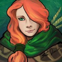 Windrunner bust by Sitaart