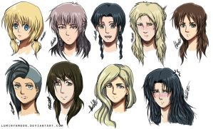 Shingeki No Genderbend ~ by Charkiin