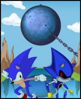 Sonic meet Metal by Sharper