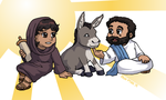 Blessings On Your Donkey by ErinPtah