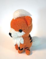 Amigurumi Growlithe by hiro-chan28