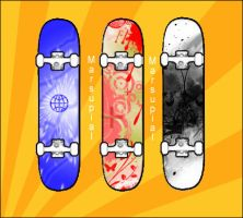 Skateboard Designs by MarsupialArt