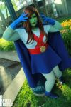 Miss Martian by MagentaGardens