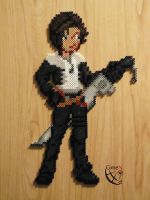 Squall Leonheart Trainer Perler Beads by Cimenord