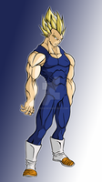 Super Saiyan Vegeta by Saiyij-kun