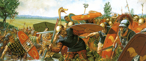 Caesar's Legion Battling Gauls by Fall3NAiRBoRnE