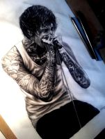R.I.P Mitch Lucker, Suicide Silence by ashleighnewman