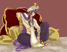 MAGI - sinbad rough color by ehayul