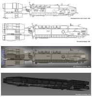 The evolution of a carrier by Marrekie