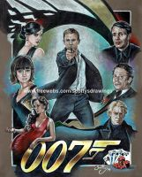 James Bond (Daniel Craig era) 2014 by scotty309