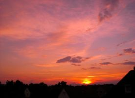 Sunset Over Bielefeld 38 by ErinM2000