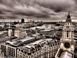 View from St Paul's Cathedral by FuckerBerrouz