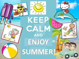 Keep Calm and Enjoy Summer! by berry331