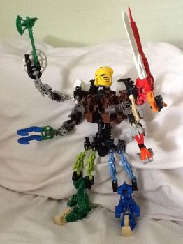 Toa Nui Weapons master by Evaron