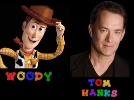 Woody - Tom Hanks by FalseDisposition
