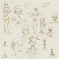 Betaware Character sketches by forgotten-light