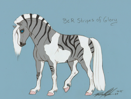 BCR Stripes of Glory by Carousel-Stables