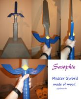 Master sword by Sasophie