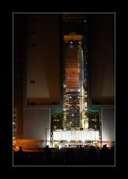 ARES-1X in the VAB by OpticaLLightspeed